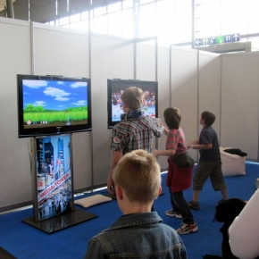 Wii Station Messestand